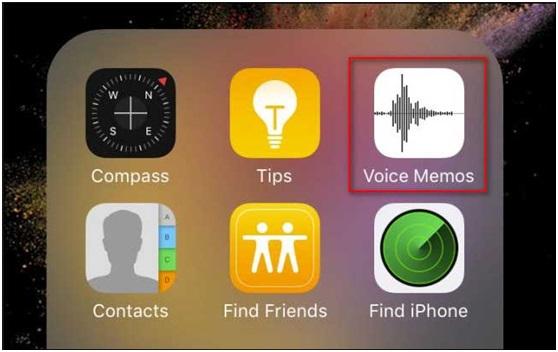 iPhone Voice Memos