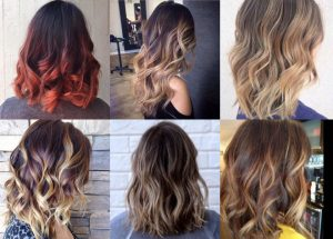 Hair Colours Types