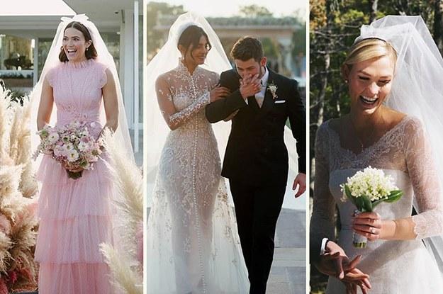 Most Beautiful Celebrity Wedding Dresses