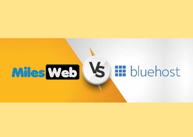 MilesWeb vs BlueHost