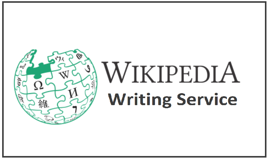 Wikipedia Writing Service
