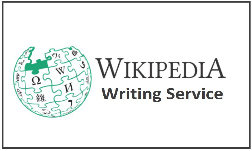 Wikipedia Writing Service