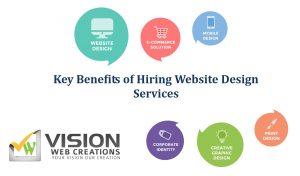 Key Benefits of Hiring Website Design Services