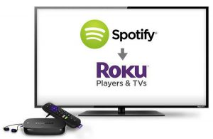 Spotify channel on Roku