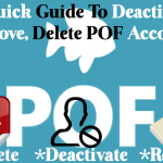 Different Ways to Delete Plenty of Fish Account