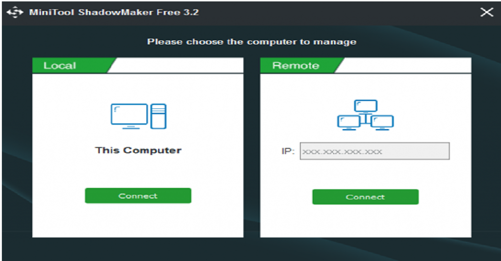 MiniTool ShadowMaker 3.2
