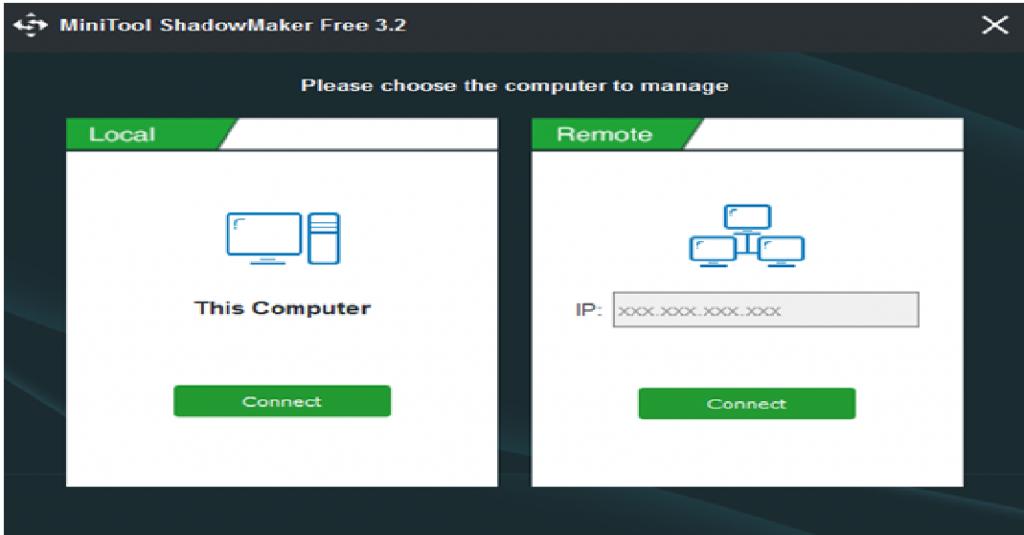 MiniTool ShadowMaker 3.2