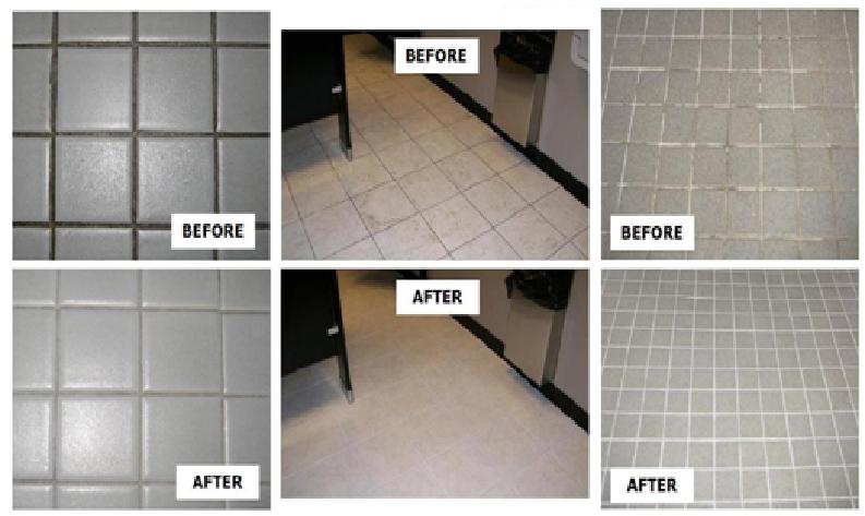 Floor Tiles Refinishing
