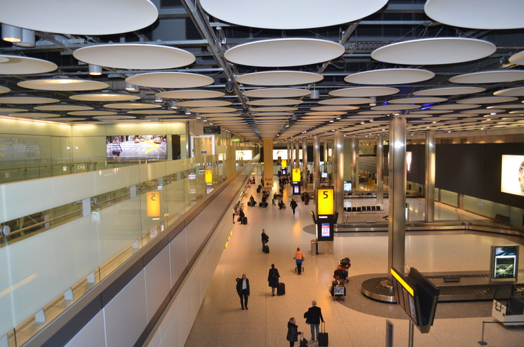 Travel to London Airport