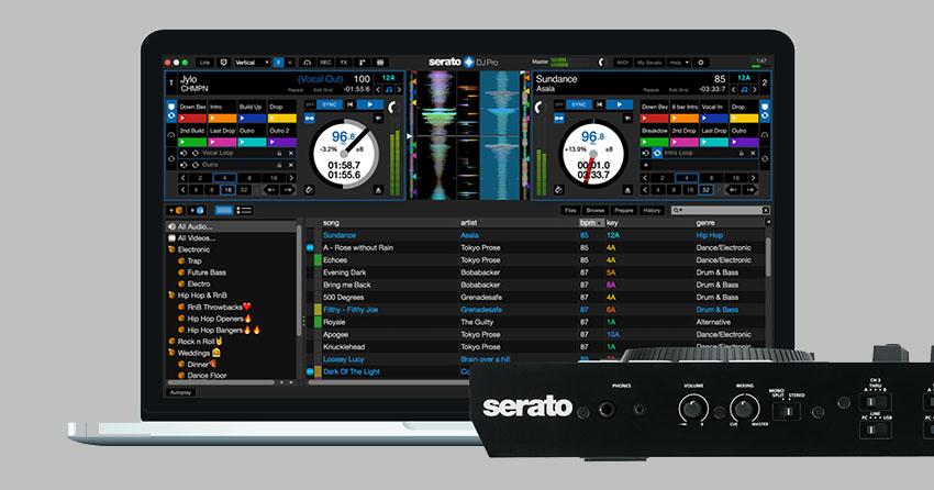 Laptop for Serato DJ