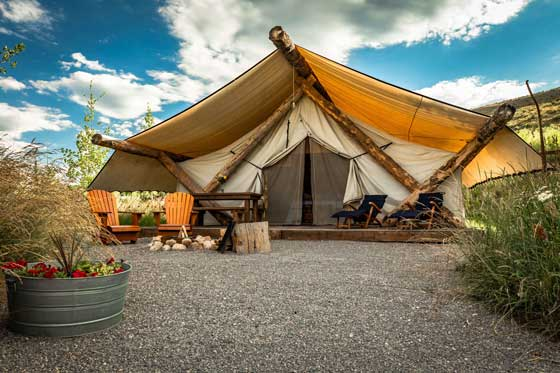 Beautiful Destinations For Glamping