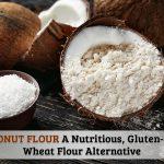 Coconut Flour a Nutritious Gluten-Free Wheat Flour Option