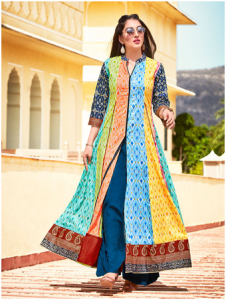 Multicolor Kurti for Extremely Stunning Look