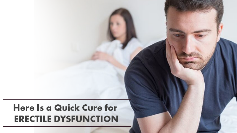 The Secrets To Cure Erectile Dysfunction Quickly