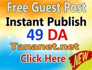 Free Guest Post Login