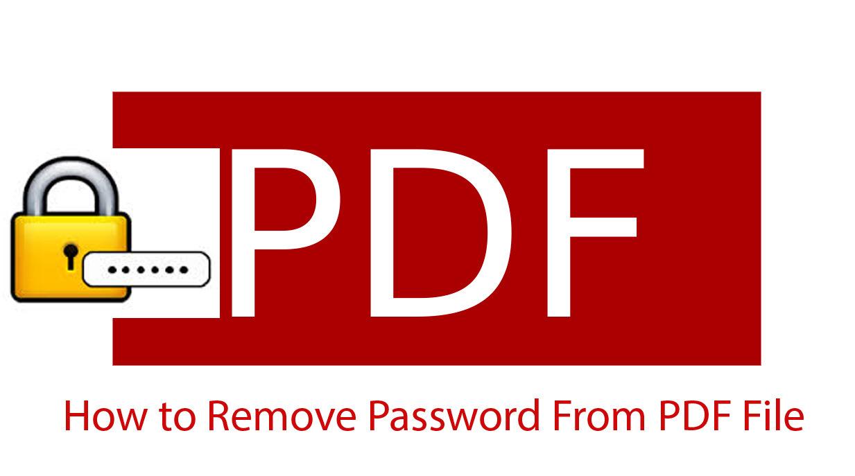 Removing PDF Password
