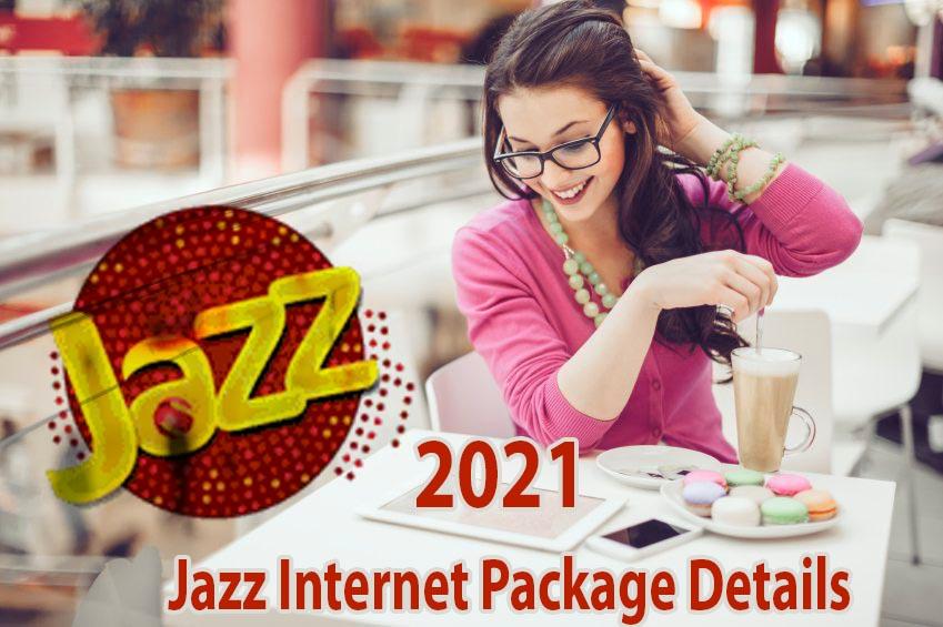 Mobilink Jazz Internet Packages Detail 2021