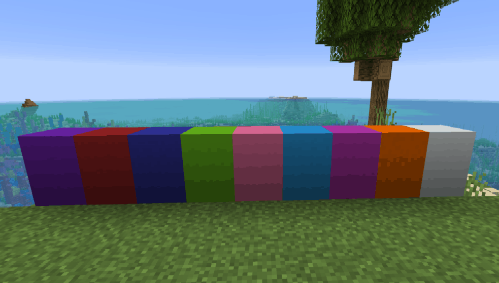 Make Concrete Blocks in Minecraft