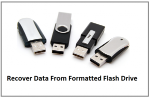 How To Recover Data From Formatted Flash Drive