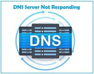 no internet dns server not responding