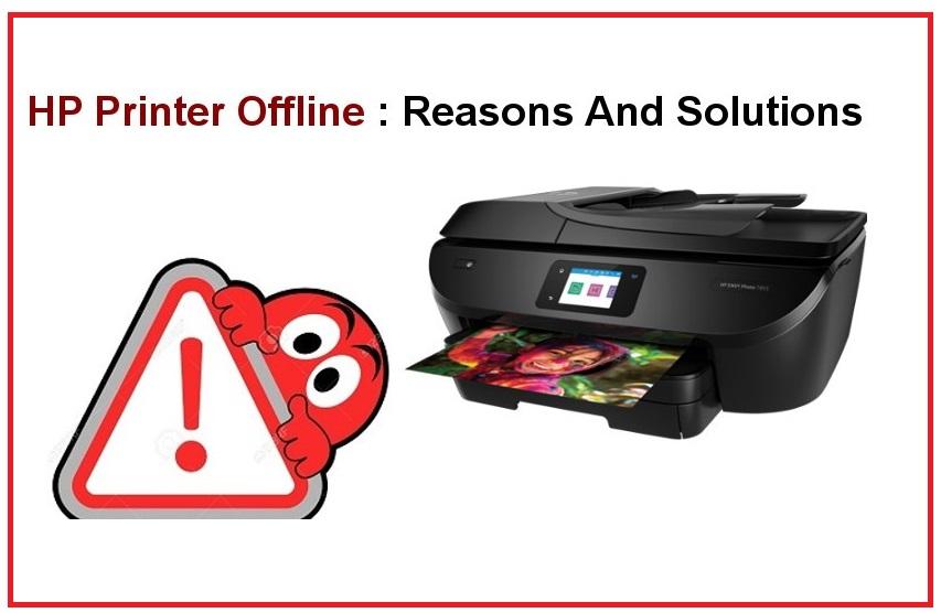 HP Printer Offline Error