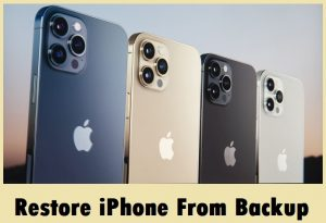 iphone restore from backup