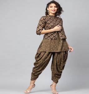 Wearing Dhoti